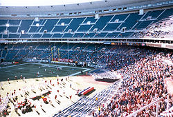 Virginia Tech and Temple meet at the Vet in 2001
