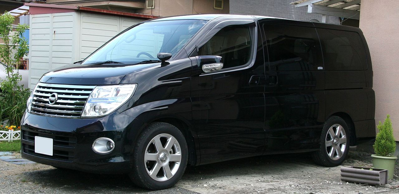 File 2004 2007 Nissan Elgrand Highway Star Jpg Wikimedia