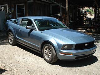 Windveil Blue Mustang Touch Up Paint