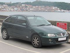 2005 Rover 25 Si 84 1.4 Front.jpg