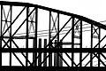 2006-08-24 - Road Trip - Day 32 - United States - Missouri - St. Louis - Bridge - Black and White 4889693370.jpg