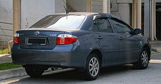 Toyota Vios - The facelift model Vios 1.5 E in Malaysia