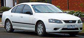 2007 Ford Falcon (BF II) XT sedan (2010-10-02).jpg