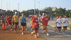 2008 Nike+ Human Race Training Run in Tamshui,...