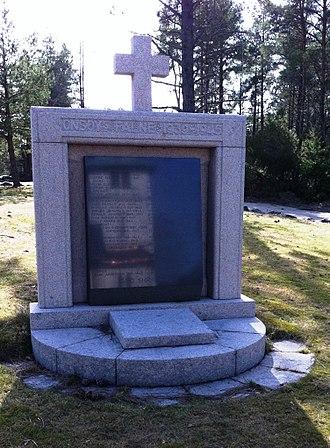 Onsøy - World War II memorial at Onsøy