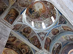 Saint George Cathedral, Yuryev-Polsky - The interior, including the dome.
