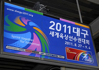 2011 World Championships in Athletics - Image: 2011dongdaegust