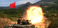 2012.9 육군 1기갑여단 전차포 사격훈련 Rep.of Korea Army The 1st Armored Brigade (8001604069).jpg