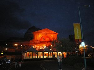 Netherlands at the 2012 Summer Olympics - The front of the 2012 Holland Heinken House in Alexandra Palace