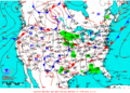 2013-06-09 Surface Weather Map NOAA.png