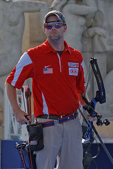 2013 FITA Archery World Cup - Men's individual compound - Semifinal - 26.jpg