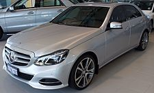 Mercedes Benz E Class  W212 on auto engine
