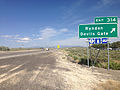 2014-06-10 16 02 24 Sign for Exit 314 along eastbound Interstate 80 in Ryndon, Nevada.JPG