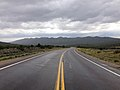 2014-08-11 14 34 10 View east along U.S. Route 50 about 50.1 miles east of the Eureka County line in White Pine County, Nevada.JPG