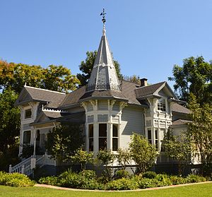 Tustin, California - Historic Sherman Stevens House, Tustin