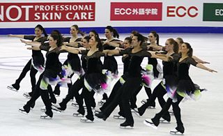 NEXXICE synchronized skating team