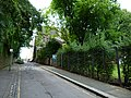 2015 London-Woolwich, Red Barracks wall 04.JPG
