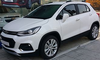 Chevrolet Trax - MY17 facelift