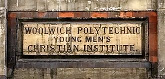 Bathway Quarter - Woolwich Polytechnic, founded in 1891