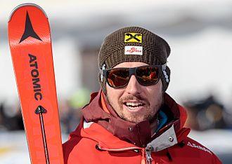 Marcel Hirscher - Hirscher in February 2017.