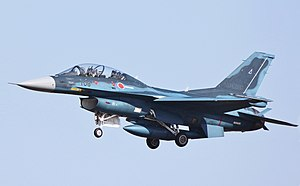 Japan Air Self-Defense Force - A Mitsubishi F-2 in flight (2010)