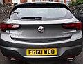 2018 Vauxhall Astra Elite 1.6 Turbo, Rear Taken in Tiverton, Devon.jpg
