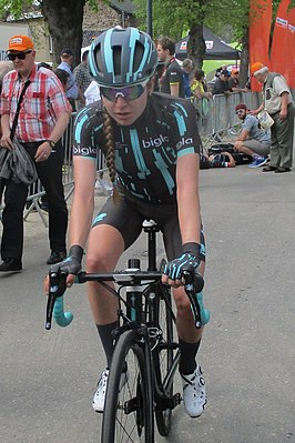 Nikola Nosková in de Waalse Pijl 2019