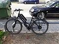 2020-06-16 Bici elèctrica aparcada a Alaquàs.jpg