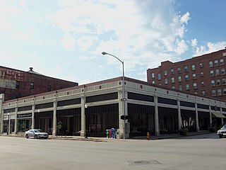 Building at 202 W. Third Street