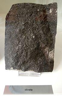 Lamprophyre igneous rock