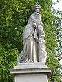 23.Brunnenwand mit Polyhymnia(1857)-Friedrich Ochs-Sanssouci-Mittlerer Lustgarten Steffen Heilfort.JPG