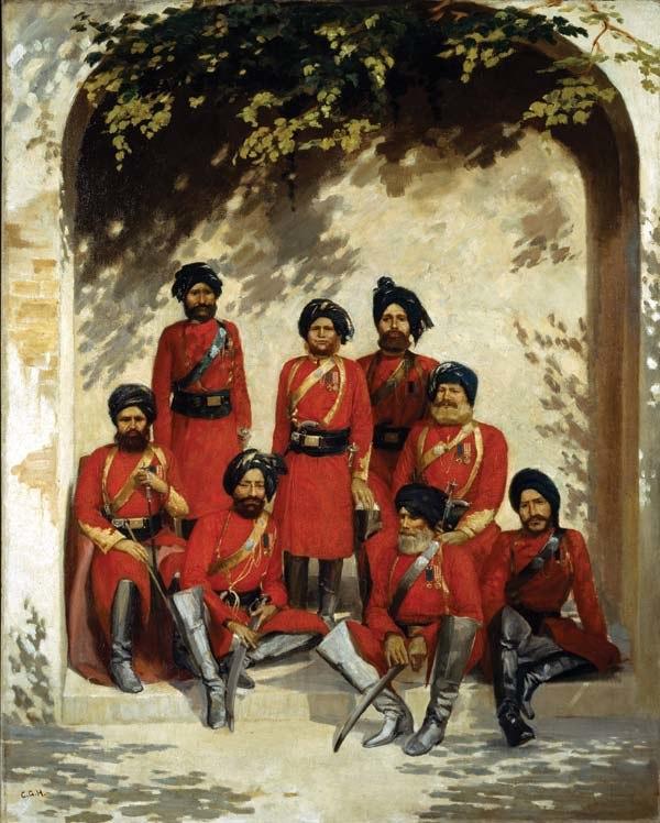 2nd Punjab Cavalry, 1880 Gordon Hayward