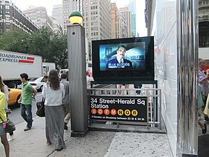 34th Street Herald Square New York City Subway Wikipedia