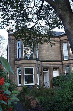 William Evans (ornithologist) - 38 Morningside Park, Edinburgh