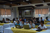 3rd Waray Wikipedia Edit-a-thon 18.JPG