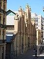41 Mercat de Sants, c. Sant Jordi 6 (Barcelona), des dels jardins de la Rambla de Sants.jpg