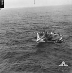 461 Squadron RAAF Sunderland on rescue mission in Bay of Biscay AWM SUK10982.jpg