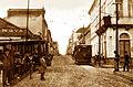 5-Primeiros dias de circulação dos Bondes elétricos - 1908 - Virgilio Calegari.jpg