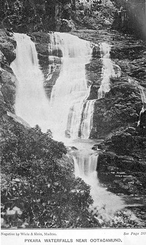 Pykara - Pykara falls in 1913