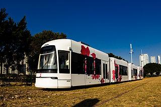 Guangzhou Tram Tram system in Guangzhou, Guangdong Province, China