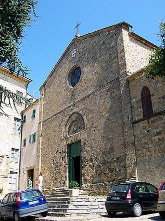 San Francesco, Volterra - Image: 842Volterra S Francesco