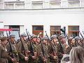 90. rocznica wyzwolenia Suwałk - przemarsz 41 Suwalskiego Pułku Piechoty.JPG