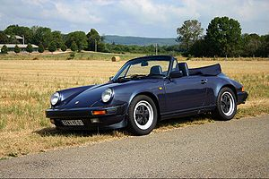 Dark Blue 911 Carrera