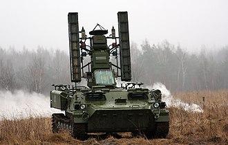 9K35 Strela-10 - Image: 9A34 Strela 10 4th Separate Tank Brigade (5)