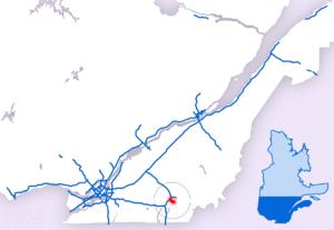 Quebec Autoroute 410 - Image: A 410
