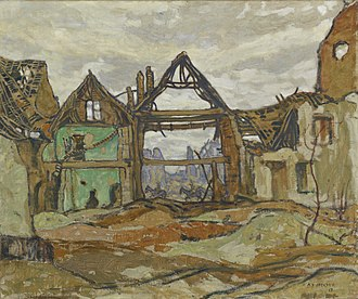 A. Y. Jackson - Image: A. Y. Jackson House of Ypres