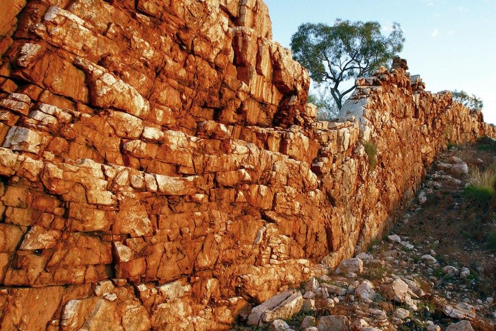 A196, Halls Creek, Western Australia, China Wall, 2007
