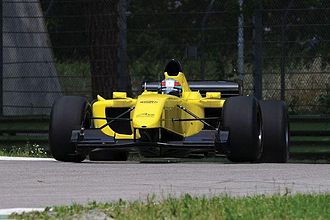"A1 Grand Prix car - The new A1 GP ""Powered by Ferrari"" car."