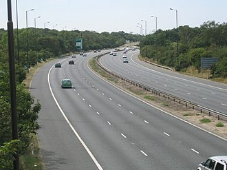 A2 road (Great Britain) - A2 at Leyton Cross