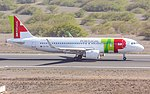 A320neo CS-TVA at SV Cape Verde.jpg